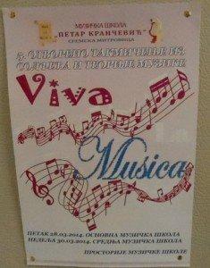 Viva la Musica plakat